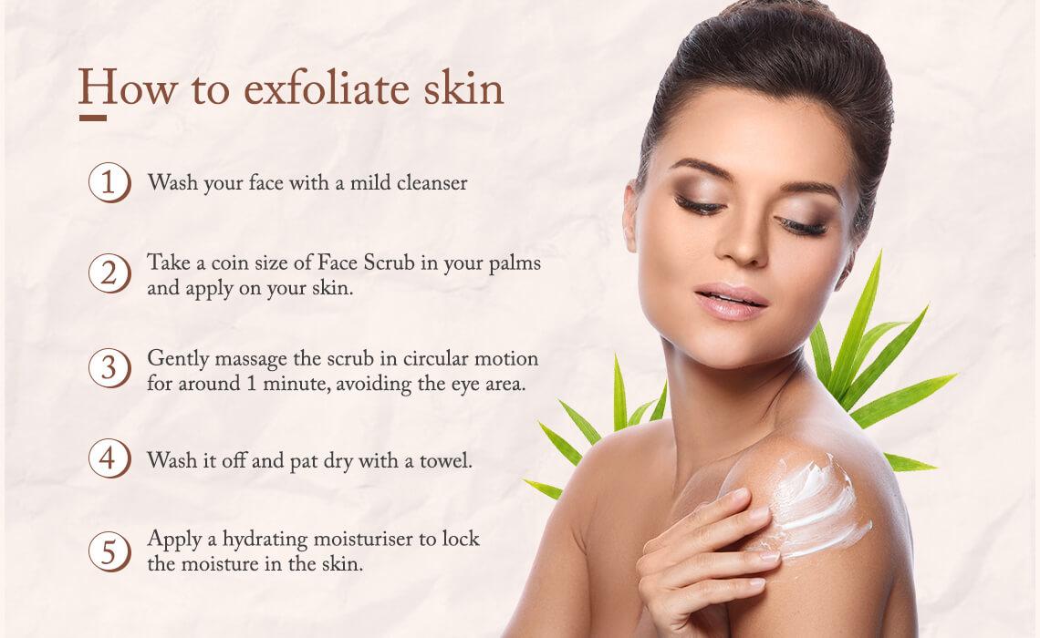 how to exfoliate skin naturally