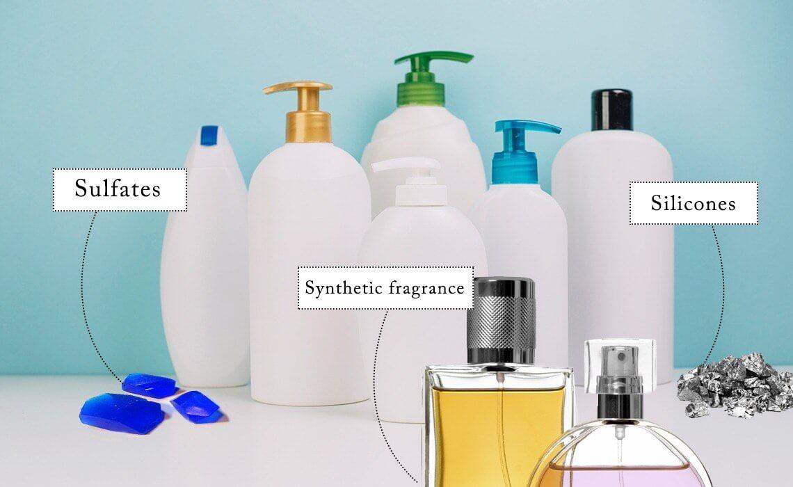 harmful chemicals in shampoo
