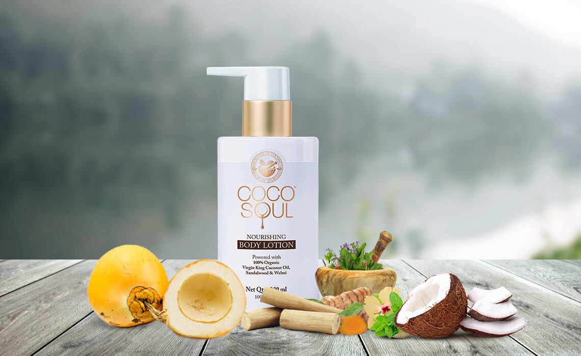 natural body lotion in winter