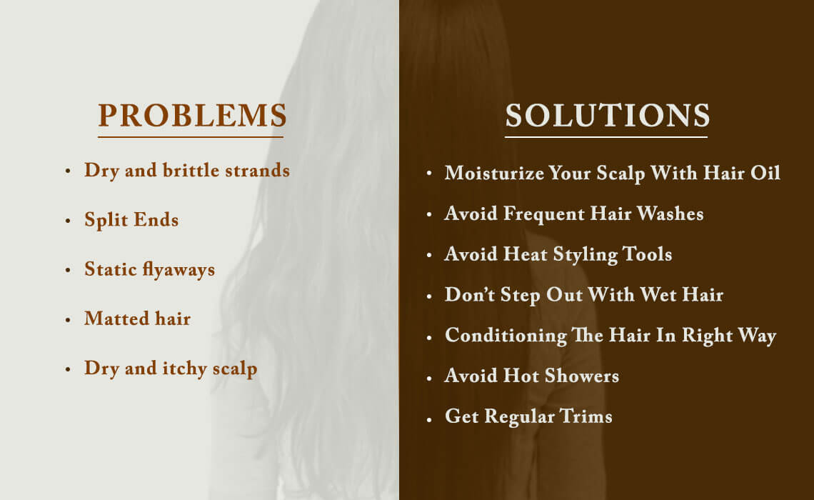 winter hair problems and solutions