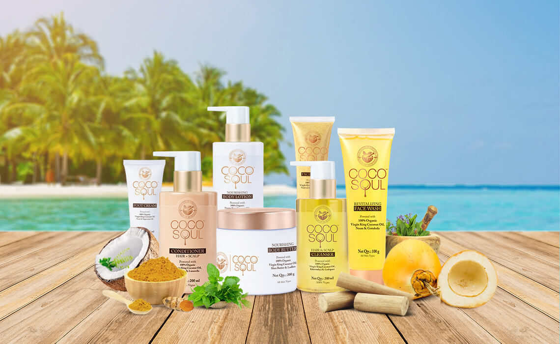 sulphate free skin and hair products