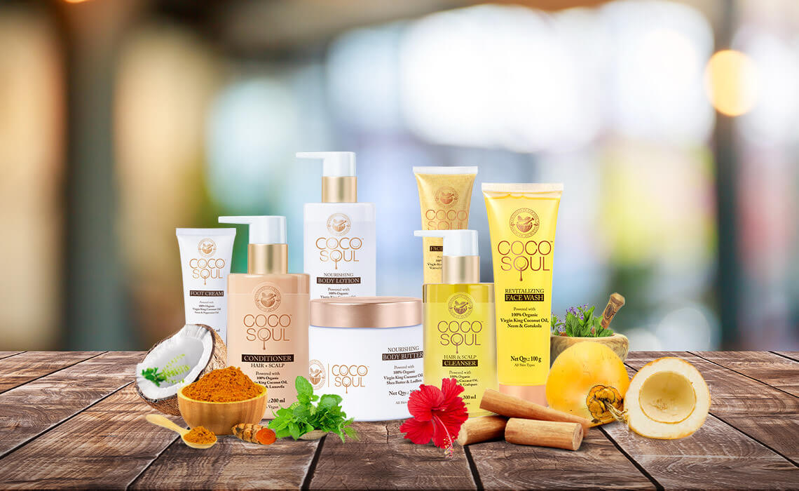 vegan hair and skin care products