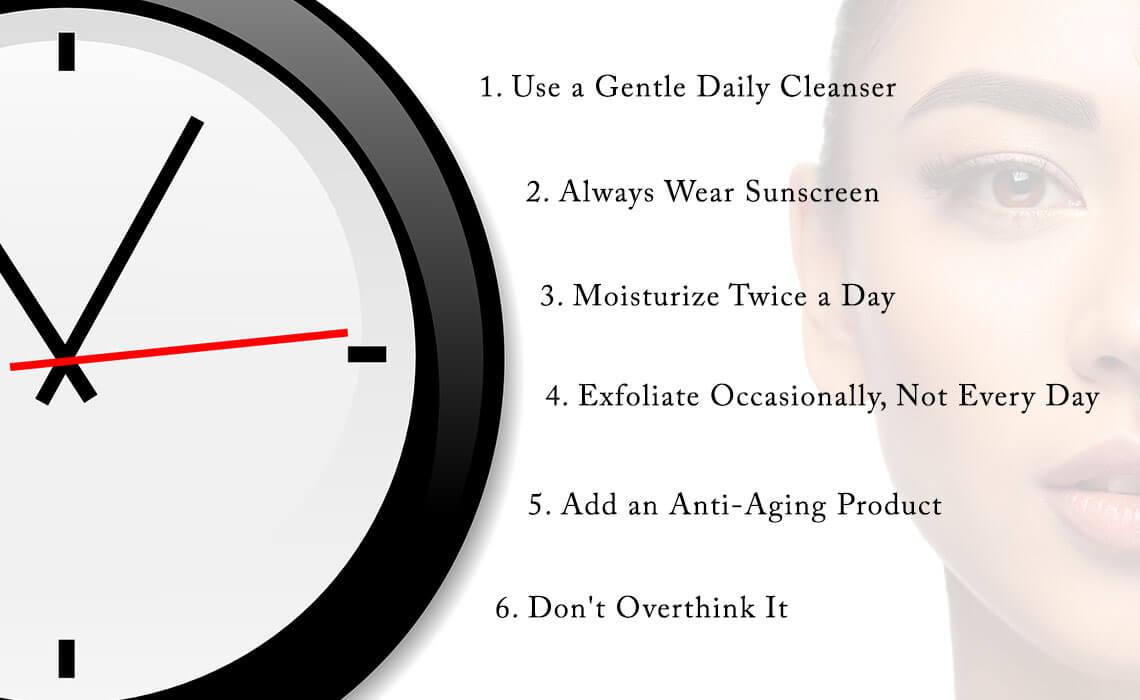 skincare routine for women