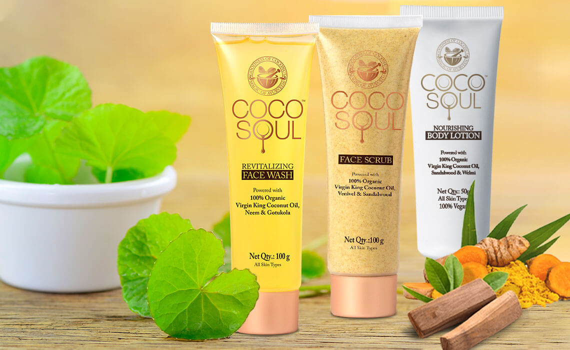 natural face and skin care products