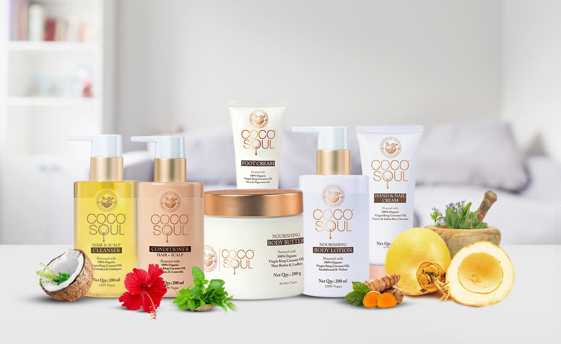 silicone free skin care and hair care products