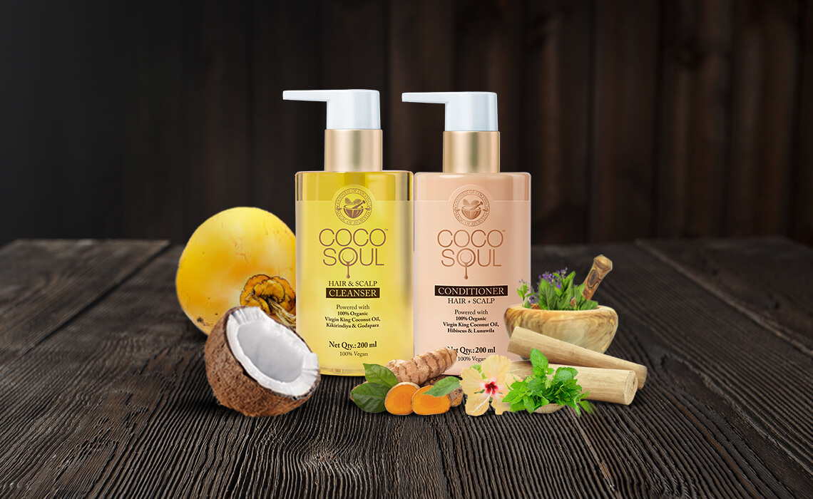 hair products with natural ingreidents