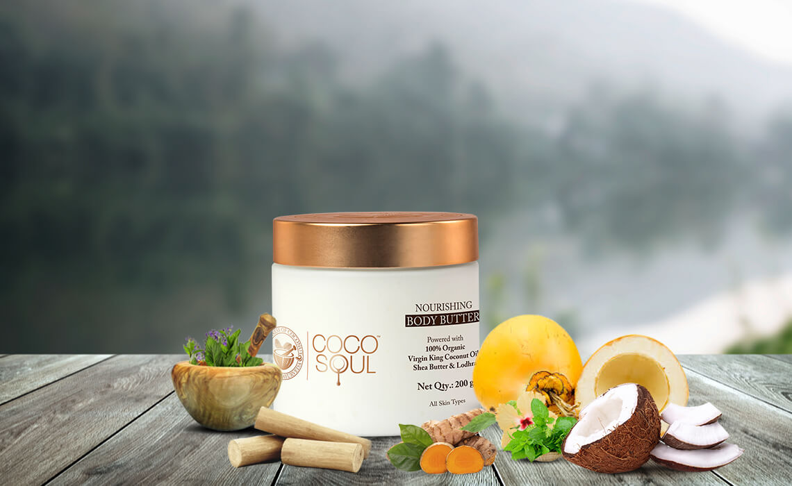 natural body butter for winter skin care