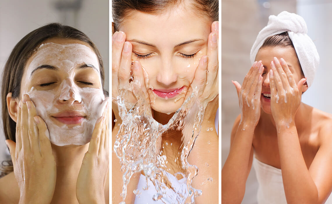 washing your face 60 seconds rule
